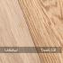 Danish oil and unfinished oak samples