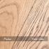 medium and dark oak finish on typical oak board